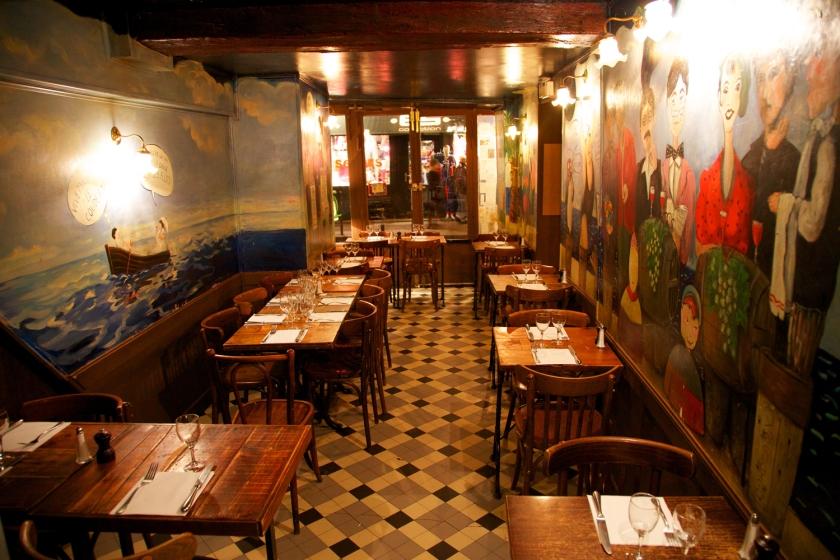 bon restaurant parisien