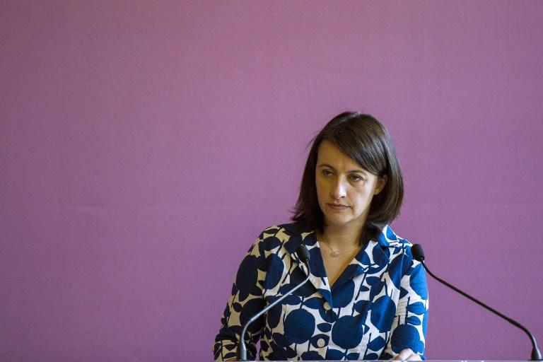 La ministre du Logement, Cécile Duflot, lors de la présentation de son projet de loi Alur (loi pour l'accès au logement et un urbanisme rénové) le 26