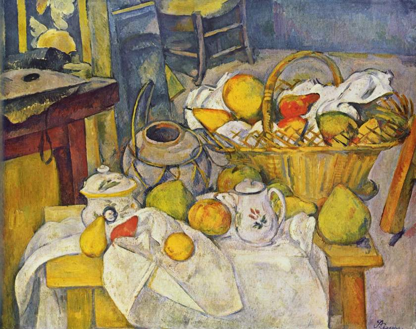 nature morte cézanne