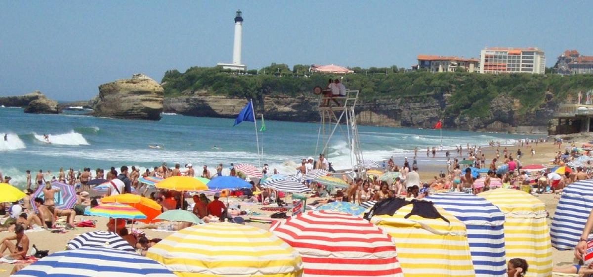 Partir en vacances à Biarritz et dans sarégion.
